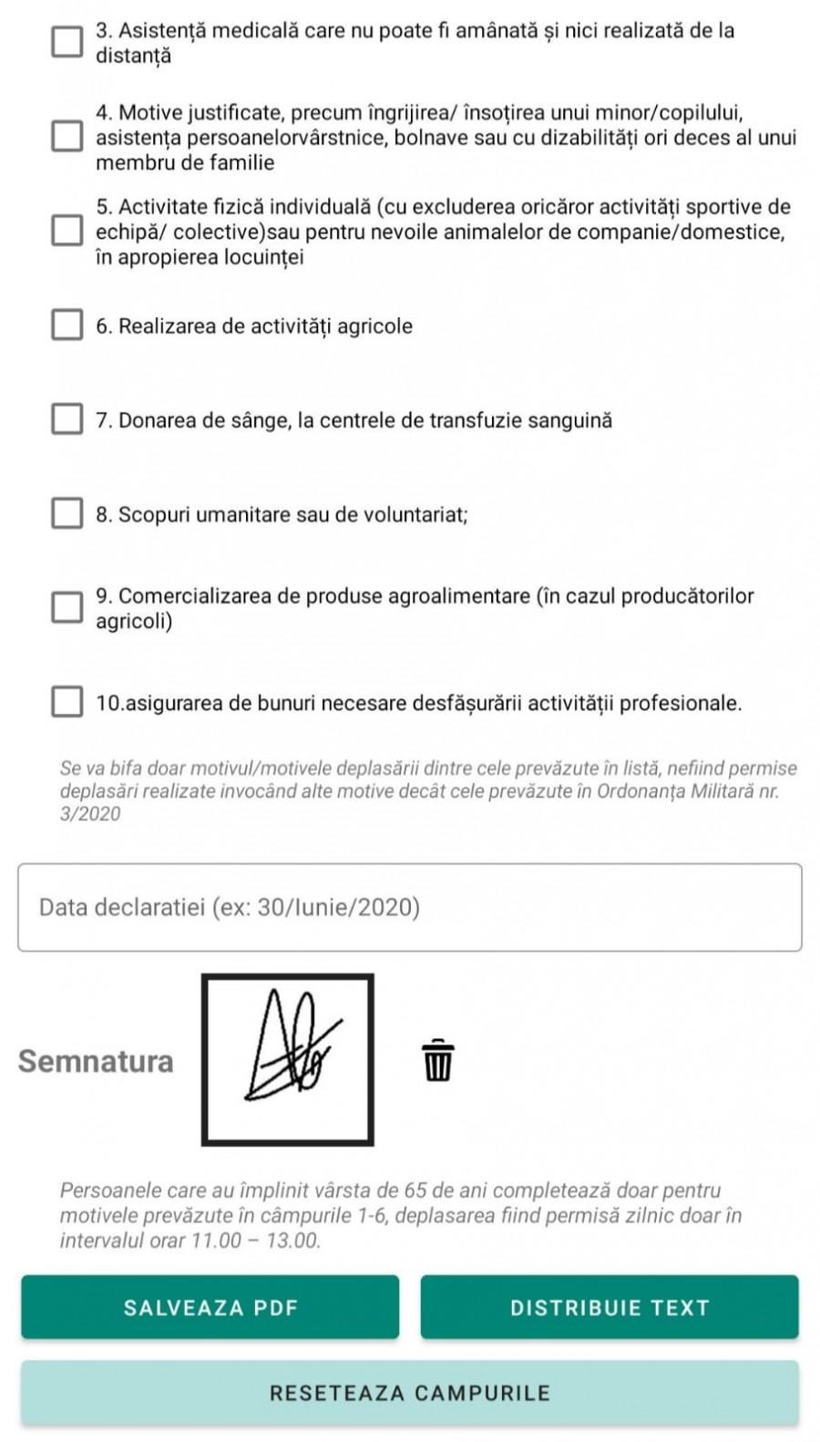 Doi arădeni au creat o aplicaţie pentru declaraţia pe propria răspundere