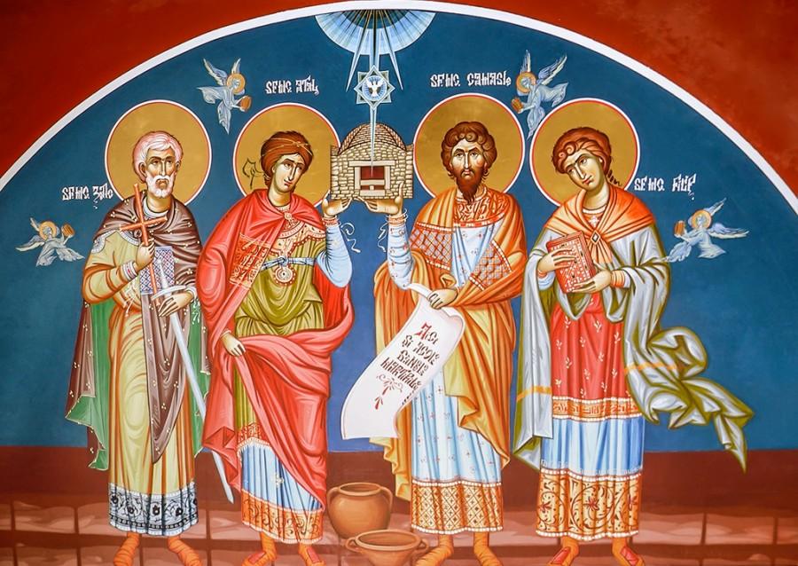 Sfinții Mucenici Zotic, Atal, Camasie și Filip de la Niculițel