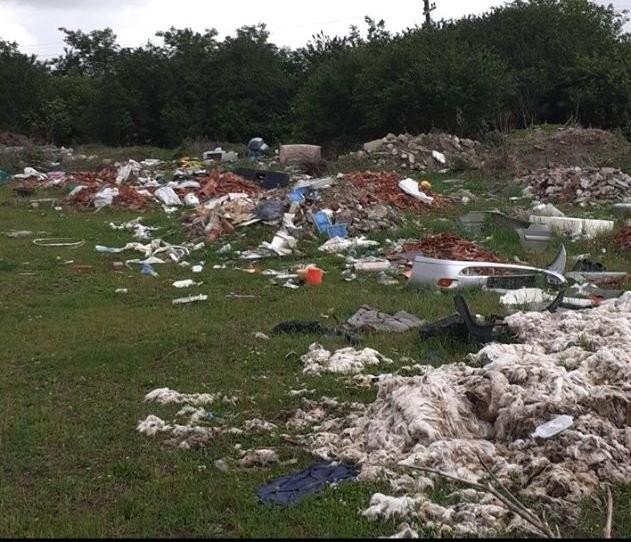 Ce amendă riscă să primească proprietarul unui teren din Zona Industrială Sud invadat de gunoaie