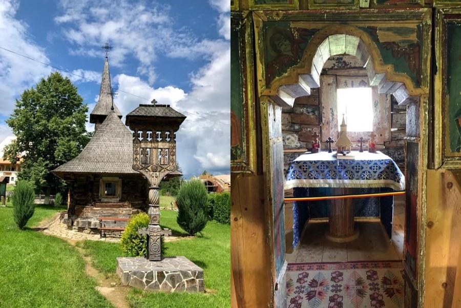 Bisericile de lemn din Ţara Maramureşului vor putea fi vizitate virtual